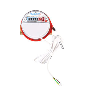 Apartment water meter with digital output RS485