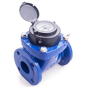 Turbine water meter with digital output