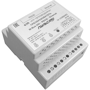 Converter M-Bus - RS232 / Ethernet