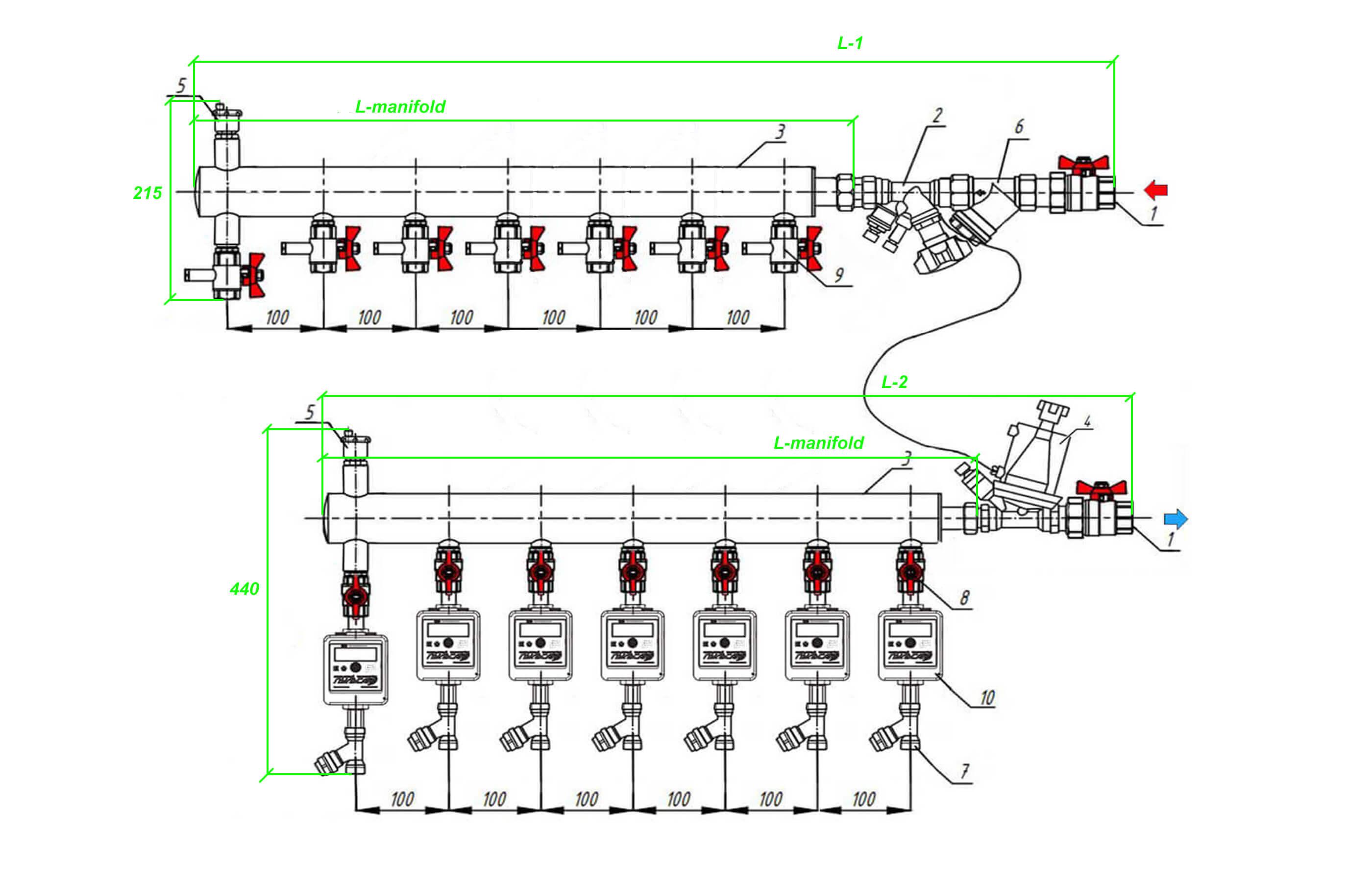 Производство коллекторных узлов